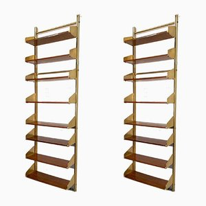 Mid-Century Bookcases from Feal, 1950s, Set of 2