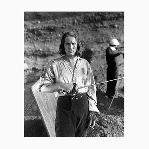 Errol Flynn as Captain Blood Archival Pigment Print Framed in Black by Everett Collection