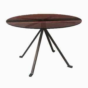 Mid-Century Modern Italian Cugino Round Dining Table by Enzo Mari for Driade, 1973