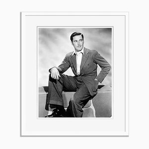 Dapper Flynn Archival Pigment Print Framed in White by Everett Collection
