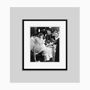 Flynn & Olivia on Set Acting Archival Pigment Print Framed in Black by Everett Collection