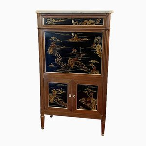 Chinese Louis XVI Style Lacquer Secretaire