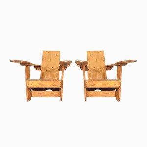Mid-Century Westport Armlehnstühle, 2er Set