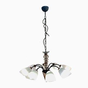 Mid-Century Murano Ceiling Lamp from Egidio Costantini & Fucina degli Angeli Murano, 1960s