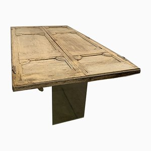 Antique Industrial Table
