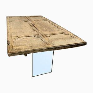 Antiker Industrieller Tisch