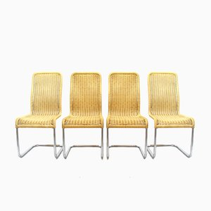 German Dining Chairs from Tecta, 1980s, Set of 4