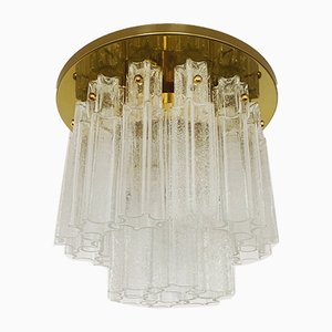 Chandelier from Glashütte Limburg, 1960s