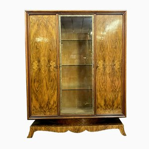Art Deco Bookcase in the Style of Jules Leleu, 1920s