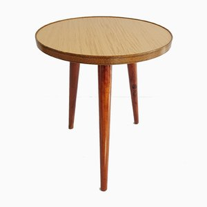 Tripod Round Coffee Table, 1960s