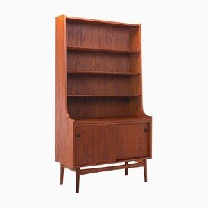Mid-Century Modern Danish Teak Bookcase by Johannes Sorth for Nexø Møbelfabrik, 1960s