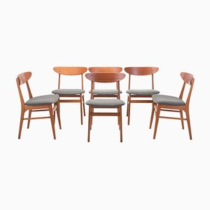 Dining Chairs from Farstrup Møbler, Denmark, 1960s, Set of 6