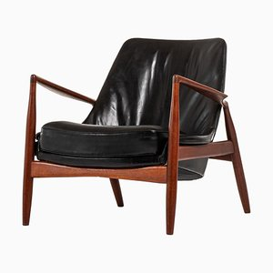 Model Sälen or Seal Lounge Chair by Ib Kofod-Larsen for OPE, Sweden, 1950s