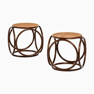 Stools by Michael Thonet for Thonet, 1950s, Set of 2