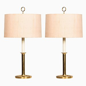 German Table Lamps, 1950s, Set of 2