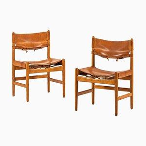 Stühle von Børge Mogensen für Svenskt Fur, Schweden, 1950er, 2er Set