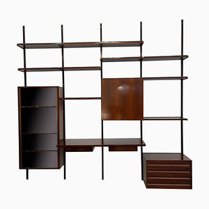 E22 Modular Wall Unit by Osvaldo Borsani for Tecno, 1960s