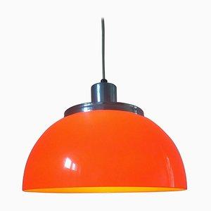 Lampe à Suspension Mid-Century par Harvey Guzzini pour Meblo, Italie, 1970s