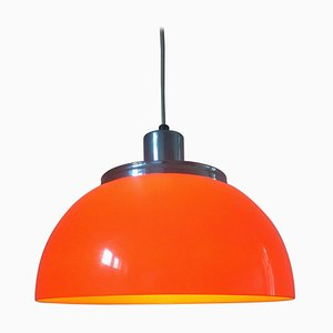 Mid-Century Pendant Lamp by Harvey Guzzini for Meblo, Italy, 1970s