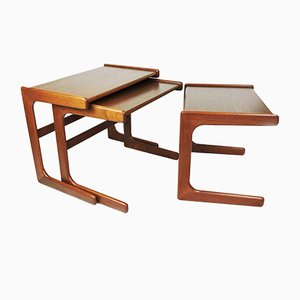 Danish Modern Satztische von Salin Nyborg, 1960er