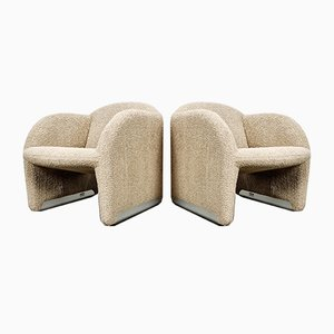 Ben Chairs by Pierre Paulin & Geoffrey Harcourt for Artifort, 1970s, Set of 2
