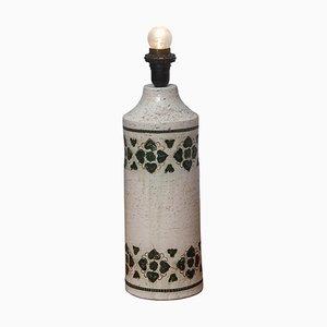 Italian Ceramic Table Lamp by Bitossi for Bergboms, 1970s