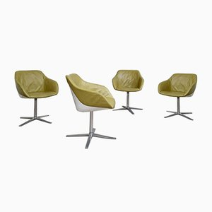 Mid-Century Dining Turtle Chairs by Walter Knoll, Set of 4