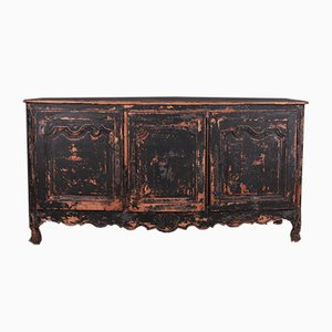 Antique Spanish Original Painted Enfilade