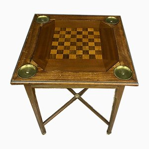 Louis XVI Inlaid Mahogany Game Table