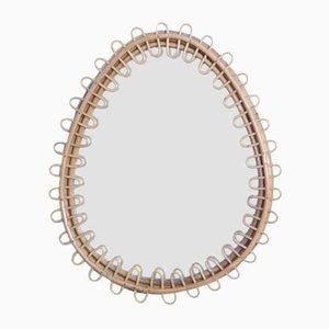 Mid-Century Bamboo Mirror