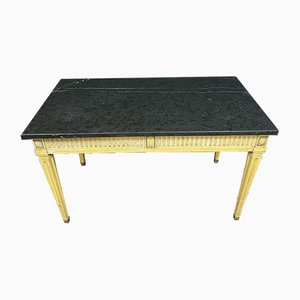 Louis XVI Lacquered Wood Work Table