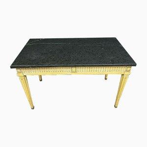 Tavolo da lavoro Luigi XVI in legno laccato