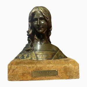 Antique Bronze Bust from Delagrange