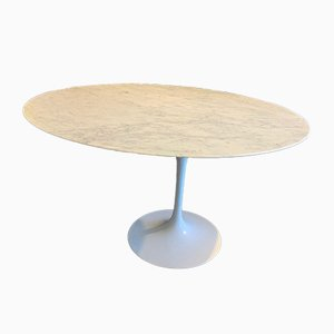 Tulip Marble Dining Table by Eero Saarinen, 1950s