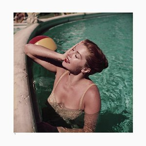 Esther Williams Framed in Black by Slim Aarons
