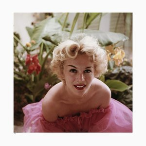 Eva Gabor Framed in Black by Slim Aarons