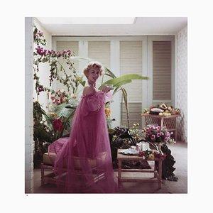 Eva Gabor Framed in White by Slim Aarons
