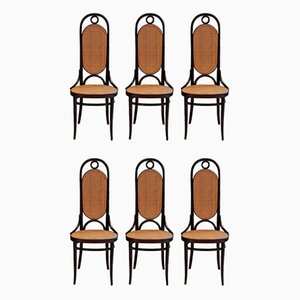 Nr. 207 R Dining Chairs by Michael Thonet for Thonet, 1970s, Set of 6