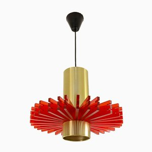 Lampada da soffitto Symphony vintage di Claus Bolby per CeBo Industri