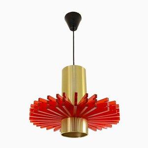 Vintage Symphony Deckenlampe von Claus Bolby für CeBo Industri