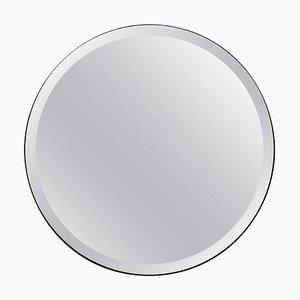 Orbis™ Bevelled Round Elegant Frameless Mirror with Velvet Backing Regular by Alguacil & Perkoff Ltd