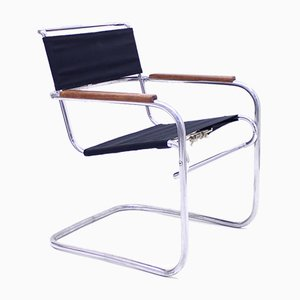 Tubular Model KS 41g Armchair by Anton Lorenz, 1930s
