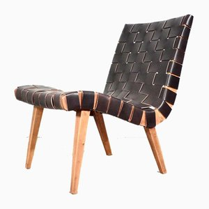Mid-Century Model 654 Lounge Chair by Jens Risom for Knoll