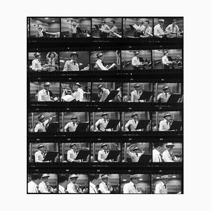 Frames of Frank Silver Gelatin Resin Print Framed in Black by Hulton Archive