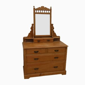 Brights of Nettlebed Country Pine Dressing Table, 1970s