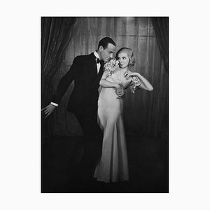 Astaire and Luce Archival Pigment Print Framed in Black