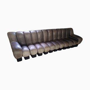 Leather Sofa by Eleonore Peduzzi Riva for de Sede, 1970s