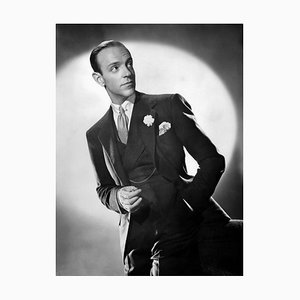Dapper Astaire in Broadway Melody Archival Pigment Print Framed in White by Everett Collection