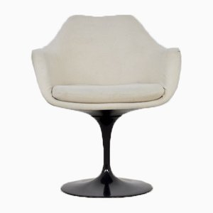 Mid-Century Black Dining Chair by Eero Saarinen for Knoll Inc. / Knoll International