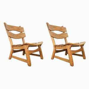 Lounge Chairs from Dittmann, 1970s, Set of 2